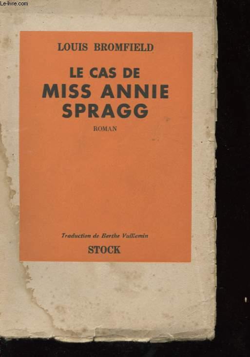 LE CAS DE MISS ANNIE SPRAGG