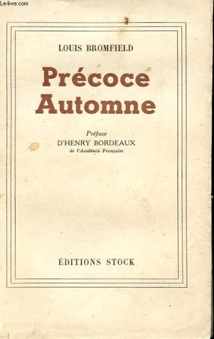 PRECOCE AUTOMNE
