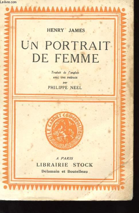 UN PORTRAIT DE FEMME
