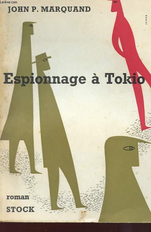 ESPIONNAGE A TOKIO