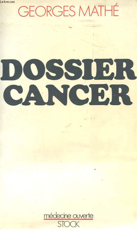 DOSSIER CANCER