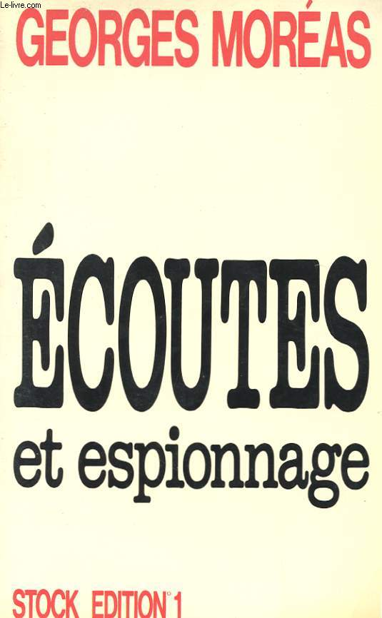 ECOUTES ET ESPIONNAGE