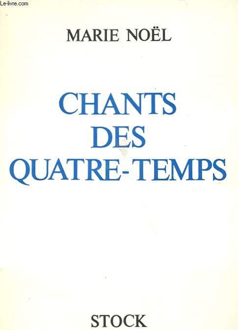 LES CHANTS DES QUATRE-TEMPS