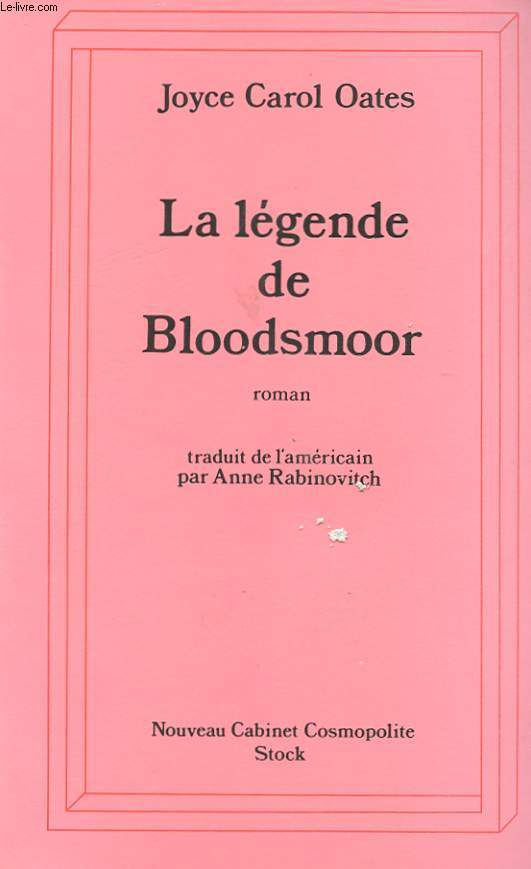 LA LEGENDE DE BLOODSMOOR