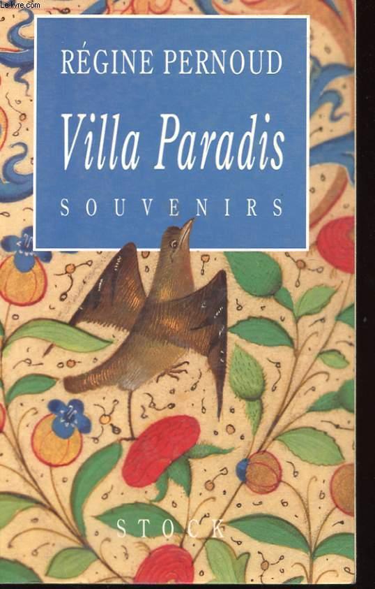 VILLA PARADIS - SOUVENIRS