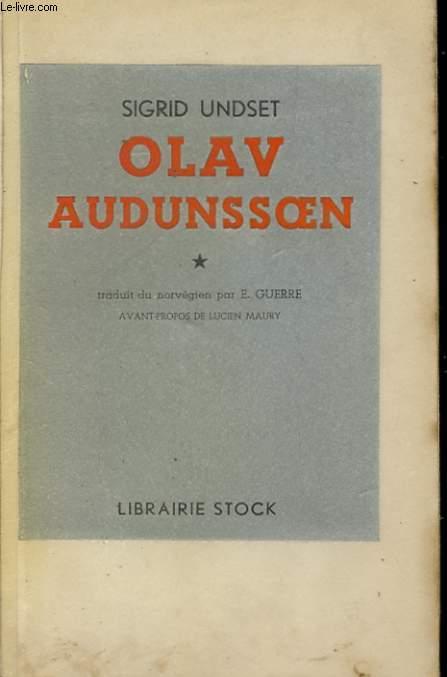 OLAV AUDUNSSOEN ET SES ENFANTS TOME 1 A TOME 4