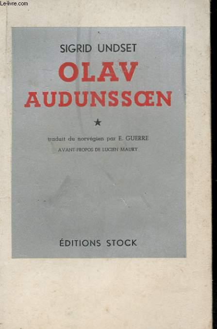 OLAV AUDUNSSOEN ET SES ENFANTS TOME 1