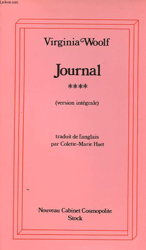 JOURNAL - TOME 4