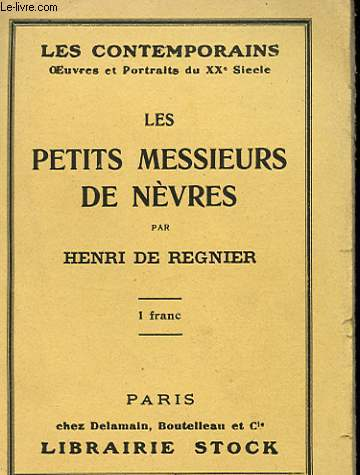 LES PETITS MESSIEURS DE NEVRES