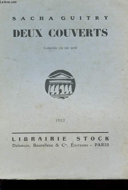 DEUX COUVERTS