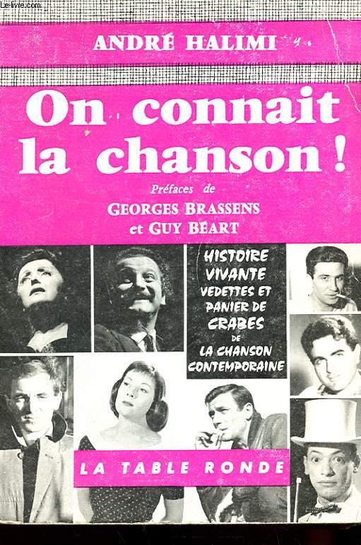 ON CONNAIT LA CHANSON !