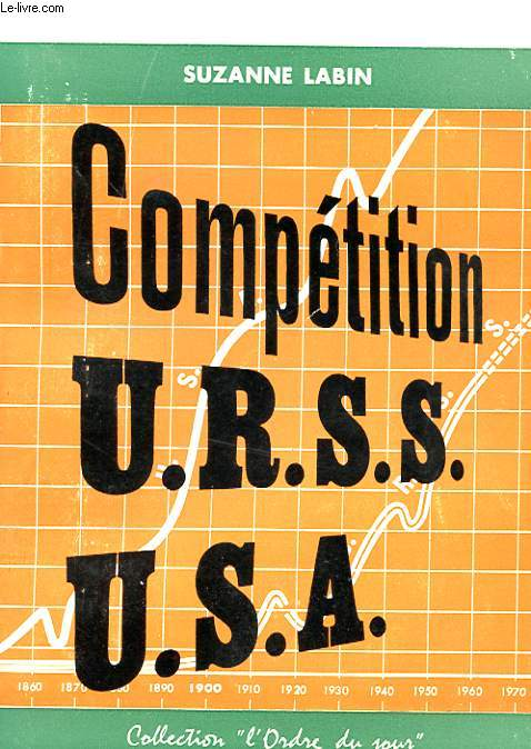 COMPETITION U.R.S.S - U.S.A  AVEC ENVOI DE L'AUTEUR