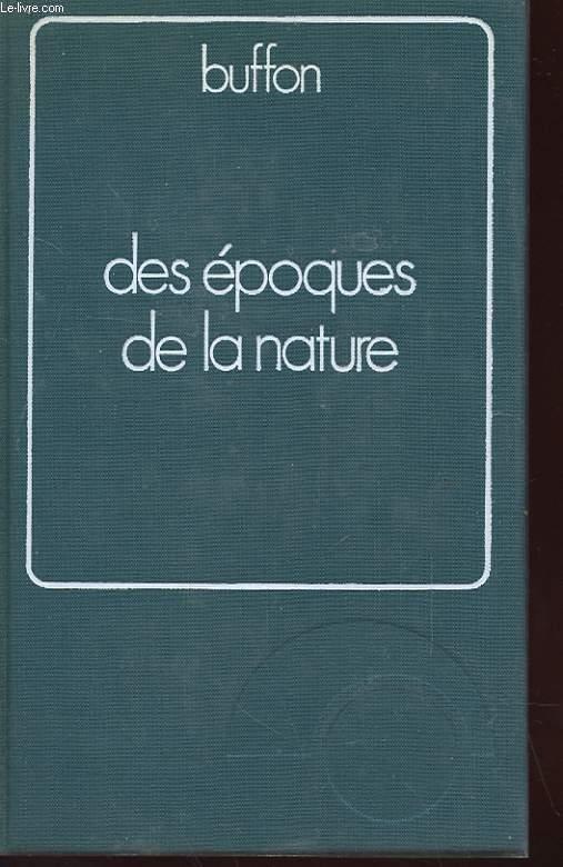 DES EPOQUES DE LA NATURE - VOLUME 2