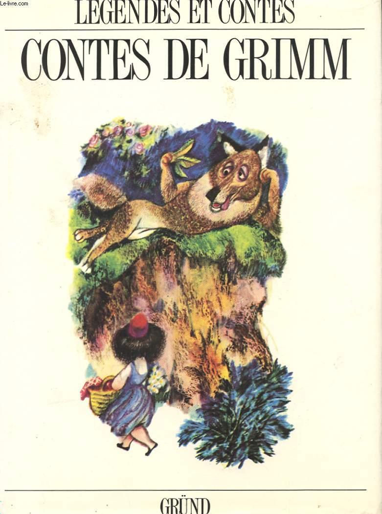 CONTES DE GRIMM - LA BELLE AU BOIS DORMANT - LE PETIT CHAPERON ROUGE - CENDRILLON - TOM POUCE - L'ONDINE - LE GRIFFON - ...