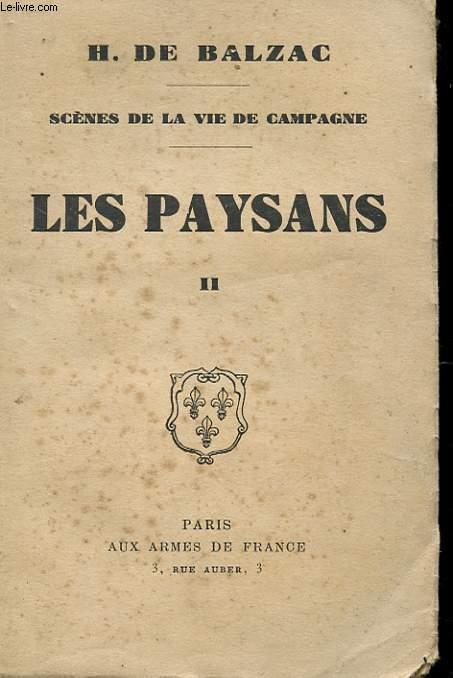 SCENES DE LA VIE DE CAMPAGNE - TOME 2 - LE PAYSAN