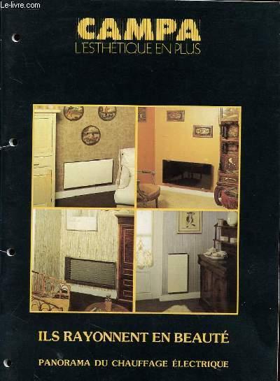 CATALOGUE CAMPA - L'ESTHETIQUE EN PLUS - SAISON 1986