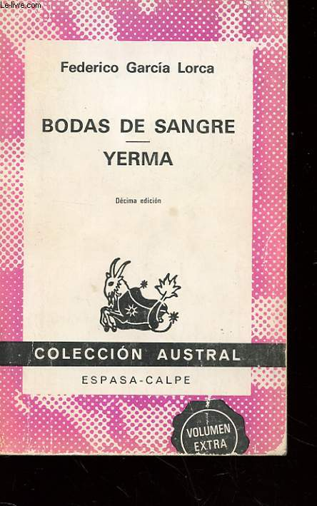 BODAS DE SANGRE - YERMA