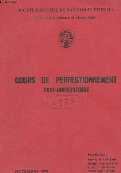 COURS DE PERFECTIONNEMENT