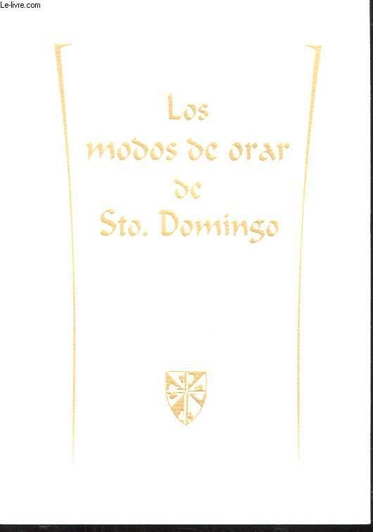 LOS MODOS DE ORAR DE STO. DOMINGO