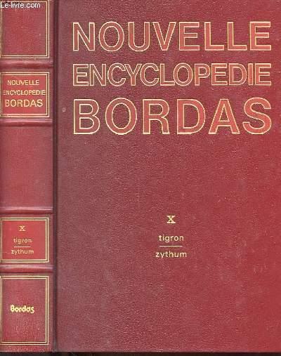 NOUVELLE ENCYCLOPEDIE BORDAS EN 10 TOMES, COMPLET
