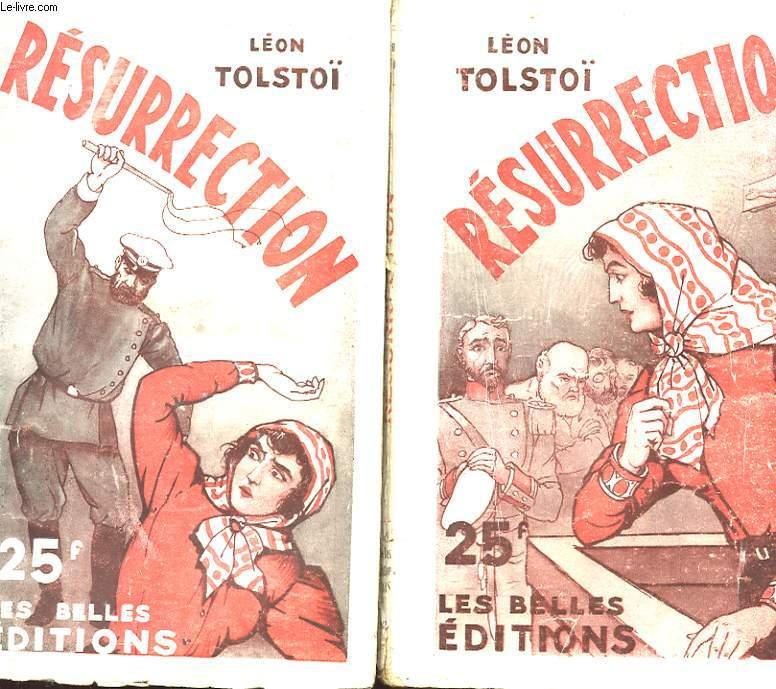 RESURRECTION EN DEUX TOMES