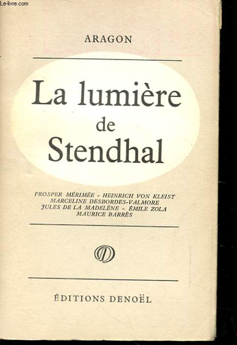 LA LUMIERE DE STENDHAL
