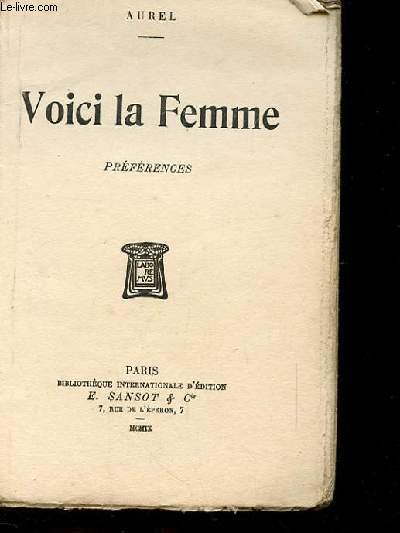 VOICI LA FEMME