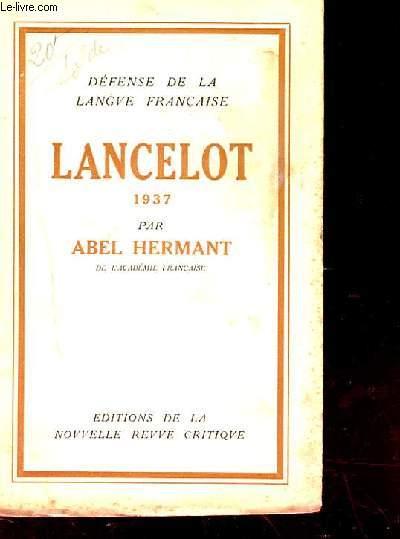 LANCELOT 1937