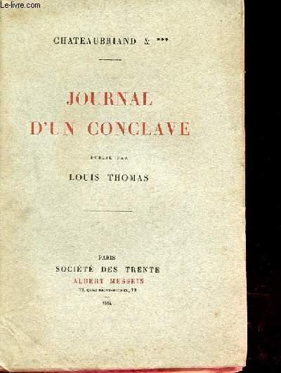 JOURNAL D'UN CONCLAVE