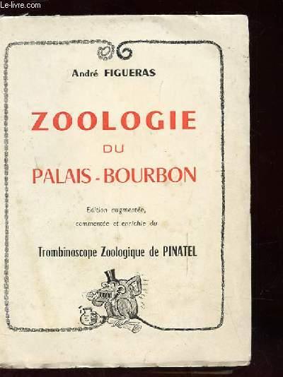 ZOOLOGIE DU PALAIS BOURBON