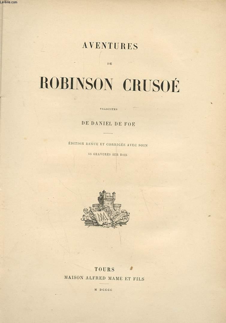 AVENTURES DE ROBINSON CRUSOE