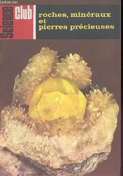 Science Club N° 46 : Roches, minéraux et pierres précieuses.