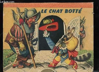 Le Chat Botté. Livre animé.