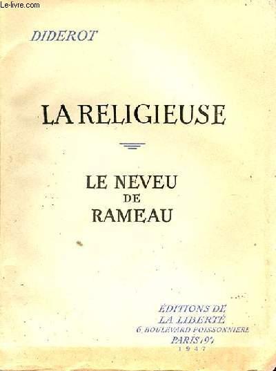 LA RELIGIEUSE LE NEVEU DE RAMEAU