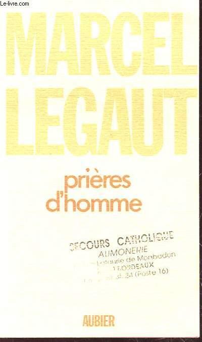 PRIERE D'HOMME