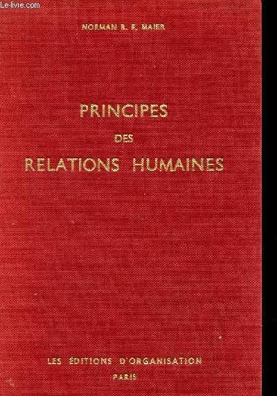 PRINCIPES DES RELATIONS HUMAINES