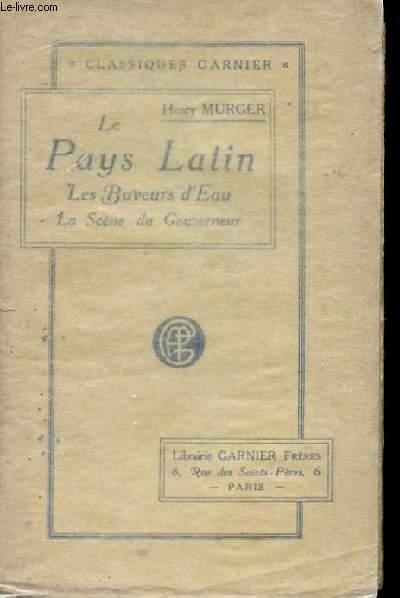 LE PAYS LATIN. LES BUVEURS D'EAU. LA SCENE DU GOUVERNEUR