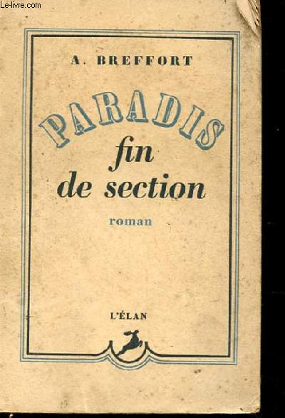 PARADIS FIN DE SECTION ROMAN