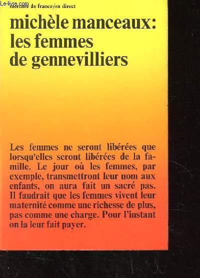 LES FEMMES DE GENNEVILLIERS.