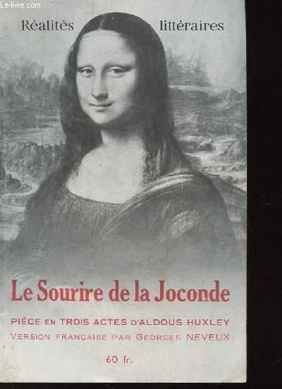 LE SOURIRE DE LA JOCONDE. PIECE EN TROIS ACTES