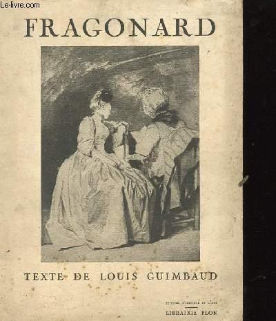 FRAGONARD PAR LOUIS GUIMBAUD.