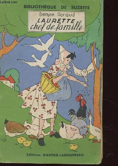 LAURETTE CHEF DE FAMILLE. 3EME EDITION