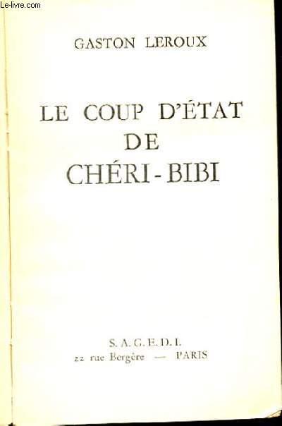 LE COUP D'ETAT DE CHERI-BIBI