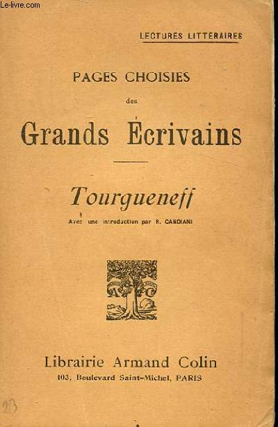 PAGES CHOISIES DES GRANDS ECRIVAINS. INTRODUCTION. L'INGRATITUDE D'ARINA. UN