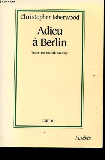 ADIEU A BERLIN.