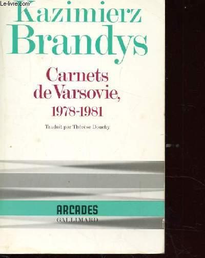 CARNETS DE VARSOVIE 1978-1981.