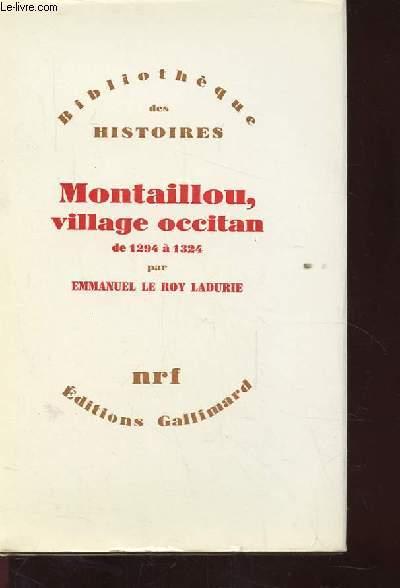 MONTAILLOU VILLAGE OCCITAN DE 1294 A 1324.