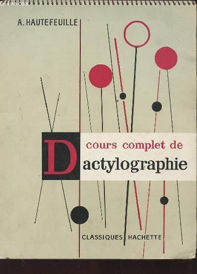 COURS COMPLET DE DACTYLOGRAPHIE