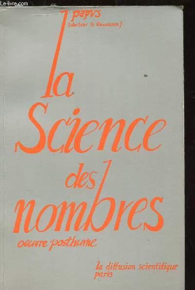 LA SCIENCE DES NOMBRES. OEUVRE POSTHUME