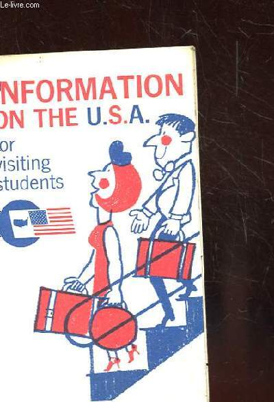 INFORMATION ON THE U.S.A FOR VISITING STUDENTS